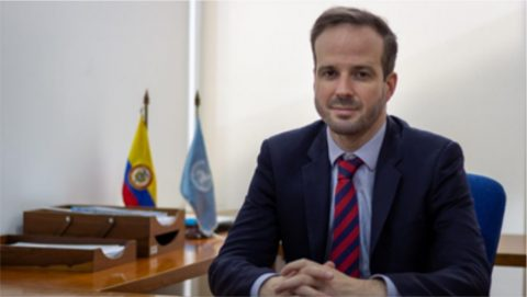 Olivier Inizan. Oficial Senior de Programas. Oficial Encargado UNODC Colombia Oficina de las Naciones Unidas contra la Droga y el Delito - UNODC