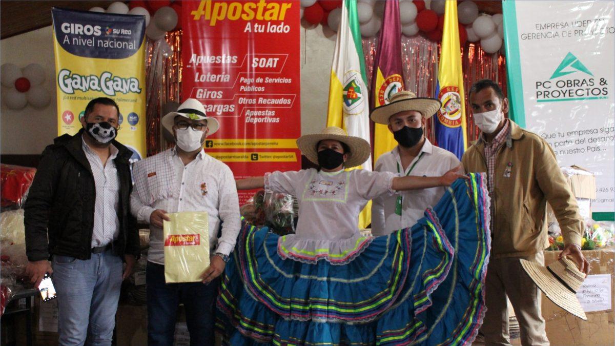 Con una inversión de más de 360 millones de pesos, Apostar apoyará la educación en Santa Isabel Tolima