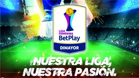 Betplay patrocinador oficial de la Liga Femenina de Fútbol de Colombia