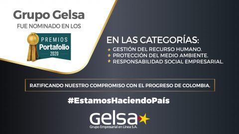 Gelsa S.A. nominada a los Premios Portafolio 2020