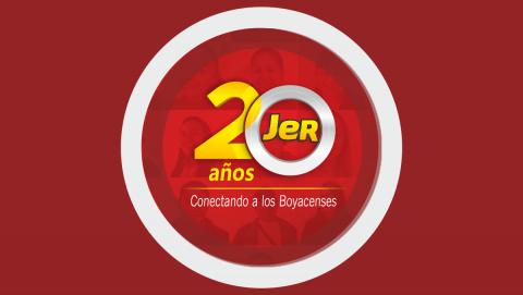 JER, 20 años conectando a los boyacenses con sus sueños